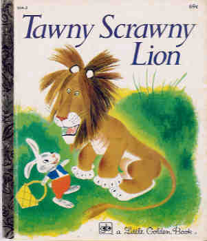 Image for Tawny Scrawny Lion (A Little Golden Book)