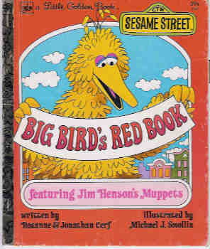 Image for Big Bird's Red Book (A Little Golden Book)
