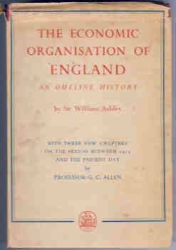 Image for The Economic Organisation of England-An Outline History