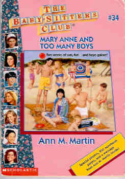 Image for Mary Anne and Too Many Boys (Baby-Sitters Club #34)
