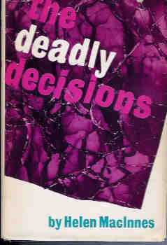 Image for The Deadly Decisions (Decision at Delphi and The Venetian Affair)