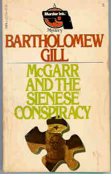 Image for McGarr and the Sienese Conspiracy (A Murder Ink. Mystery)