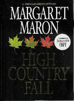 Image for High Country Fall (A Deborah Knott Mystery) (Signed)