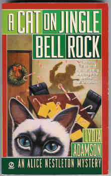 Image for A Cat on Jingle Bell Rock [An Alice Nestleton Mystery]