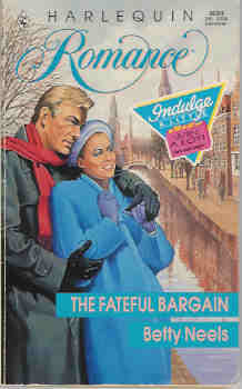 Image for The Fateful Bargain (Harlequin Romance #3024 12/89)