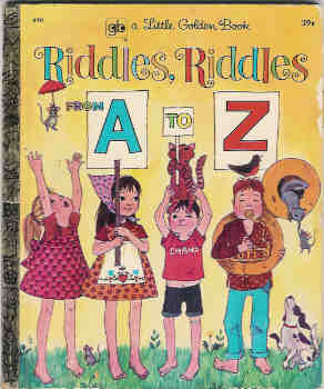 Image for Riddles, Riddles from A to Z (A Little Golden Book)