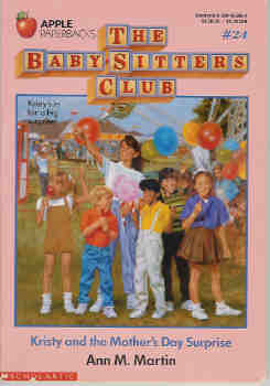 Image for Kristy and the Mother's Day Surprise (The Baby-Sitters Club series #24)