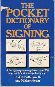 Image for The Pocket Dictionary of Signing