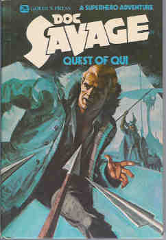 Image for Quest of Qui:  A Superhero Adventure (Doc Savage series #12)