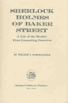 Image for Sherlock Holmes of Baker Street:A Life of the World's First Consulting Detective