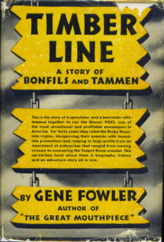 Image for Timber Line:  A Story of Bonfils and Tammen