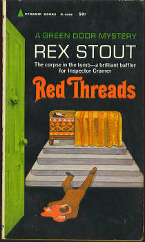 Image for Red Threads (A Green Door Mystery)