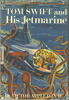 Image for Tom Swift and His Jetmarine  (The New Tom Swift Jr. Adventures #2)