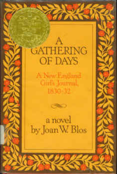 Image for A Gathering of Days:  A New England Girl's Journal, 1830-32