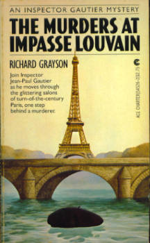 Image for The Murders at Imopasse Louvain (An Inspector Gautier Mystery)