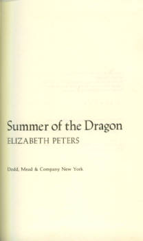 Image for Summer of the Dragon