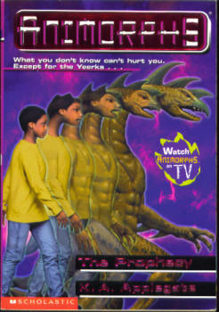 Image for The Prophecy (Animorphs Series #34)
