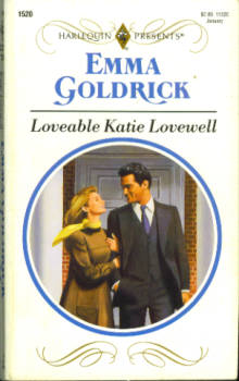 Image for Loveable Katie Lovewell (Harlequin Presents #1520 01/93)