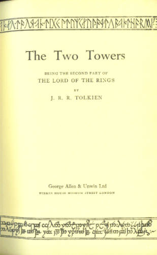 Image for The Two Towers (Lord of the Rings, Part Two)