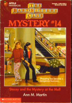 Image for Stacey and the Mystery at the Mall (Baby-Sitters Club Mystery #14)