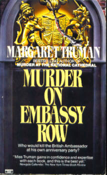Image for Murder on Embassy Row (Capital Crimes Mystery Series)