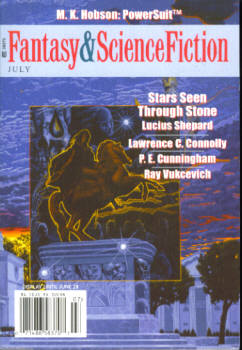 Image for Fantasy & Science Fiction Magazine July 2007, Vol 113, No. 1