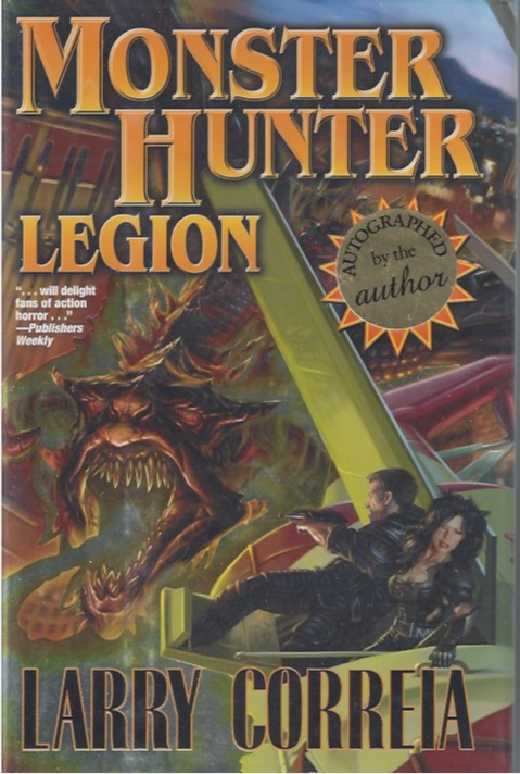Image for Monster Hunters Legion (Signed) (Monster Hunters Series, #4)