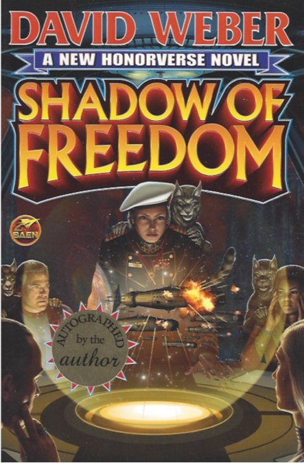 Image for Shadow of Freedom (Signed) (Saganami Island Series, #3)