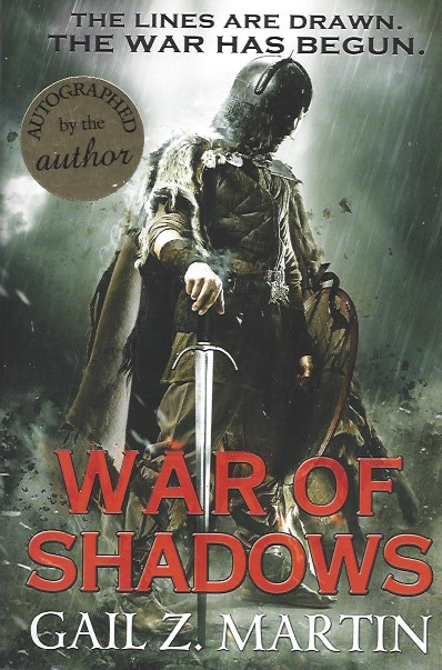 Image for War of Shadows (Book Three: the Ascendant Kingdoms Saga) (Signed)