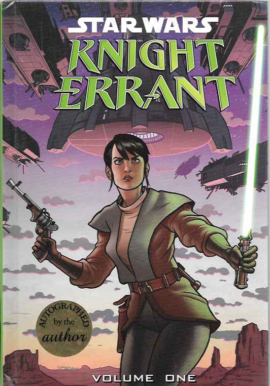 Image for Star Wars Knight Errant: Volume One Aflame (Signed)
