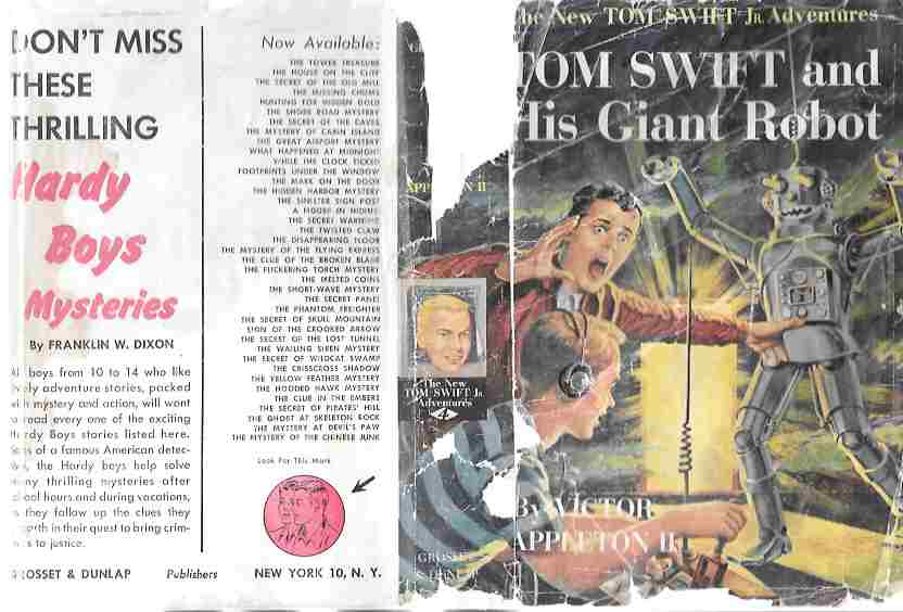 Image for Tom Swift and the Giant Robot (The New Tom Swift Jr. Adventures #4)