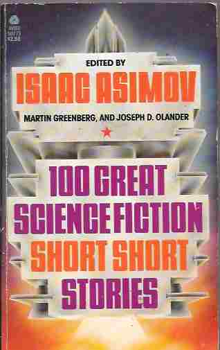 Image for 100 Great Science Fiction Short Short Stories