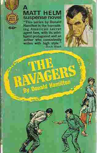 Image for The Ravagers (Matt Helm Thriller #8)