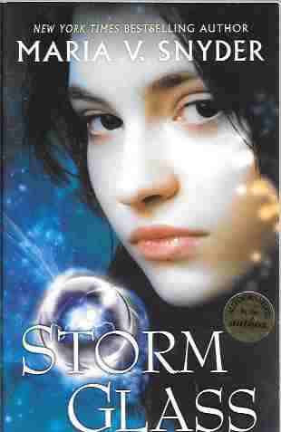 Image for Storm Glass (Signed) (Glass Series #1)