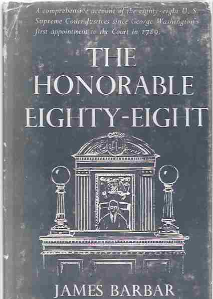 Image for The Honorable Eighty-Eight (Signed)