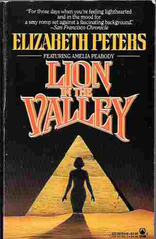 Image for Lion in the Valley (Amelia Peabody Mystery #4)