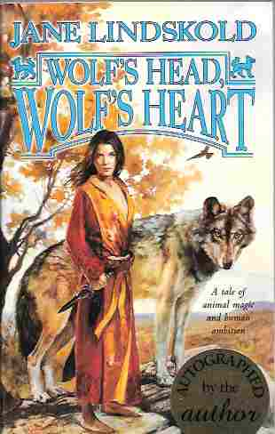 Image for Wolf's Head, Wolf's Heart [Signed] (Firekeeper Series #2)