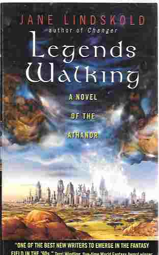 Image for Legends Walking [Signed] (Athanor #2)