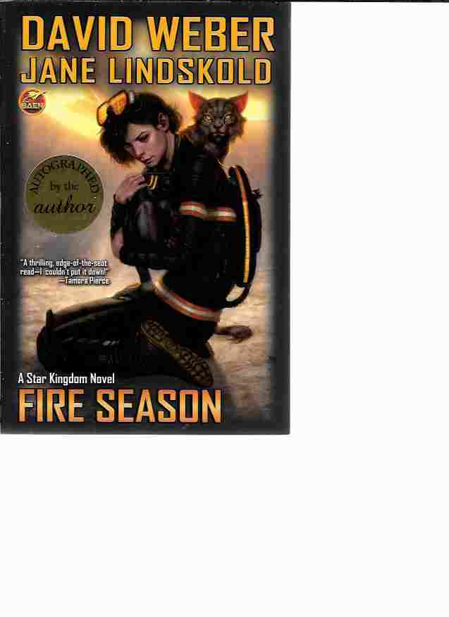 Image for Fire Season [Signed] (Star Kingdom #2)