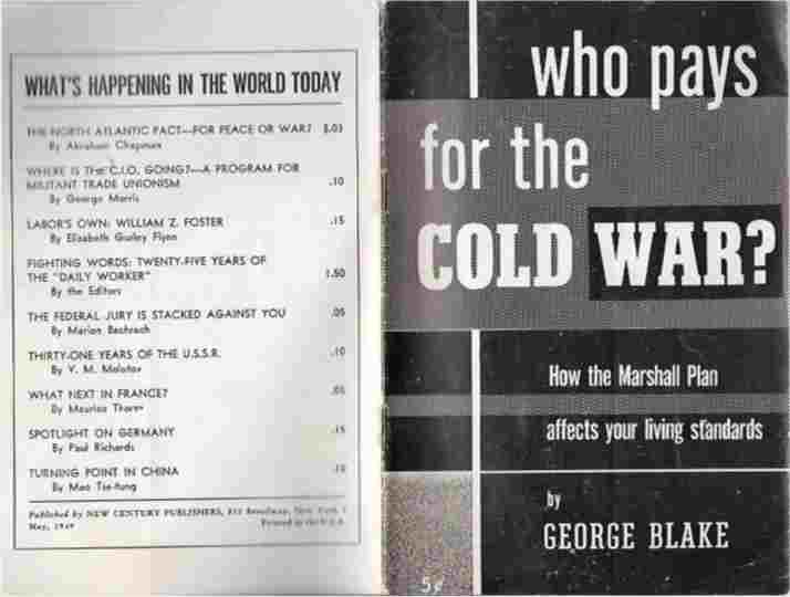 Image for Who Pays for the Cold War?  How the Marshall Plan Affects Your Living Standards