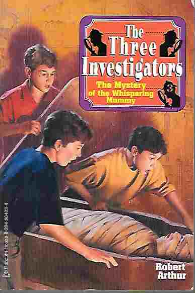 Image for The Three Investigators: The Mystery of the Whispering Mummy (Three Investigators #3)