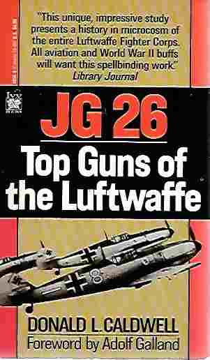 Image for JG 26 Top Guns of the Luftwaffe