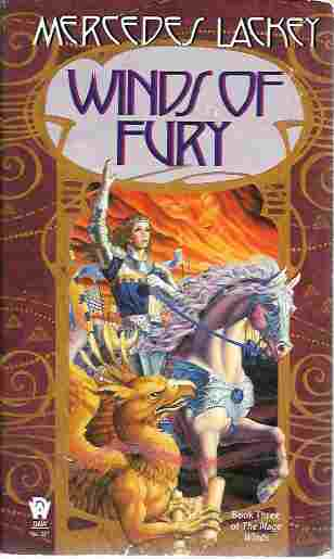 Image for Winds of Fury (Book Three of the Mage Winds Trilogy)
