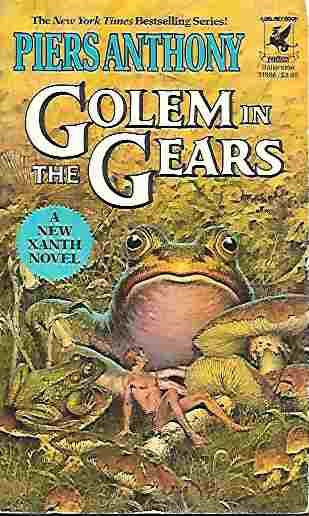 Image for Golem in the Gears (Xanth Series # 9)
